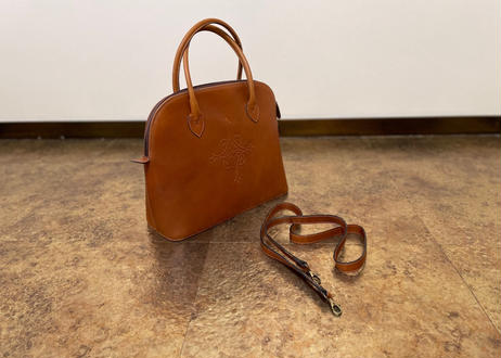 vintage made in italy leather bag