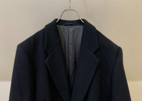90s wool chesterfield coat