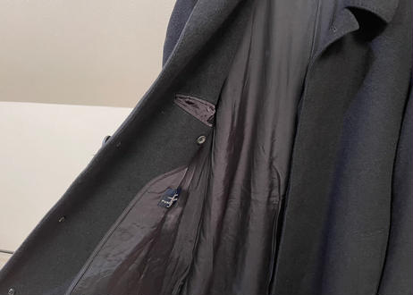 90s pure cashmere coat C