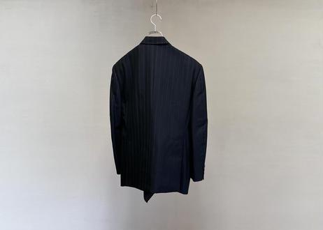 yves saint laurent silk wool double jacket