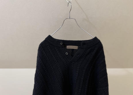 """90s  """"初期"""" y's for men cable knit"""