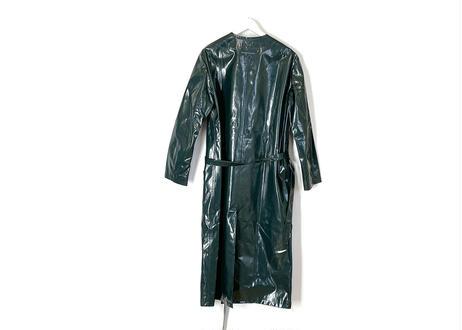 2018ss mm6 maison margiela coating coat green dead stock