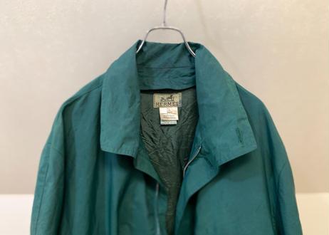 hermes green coat