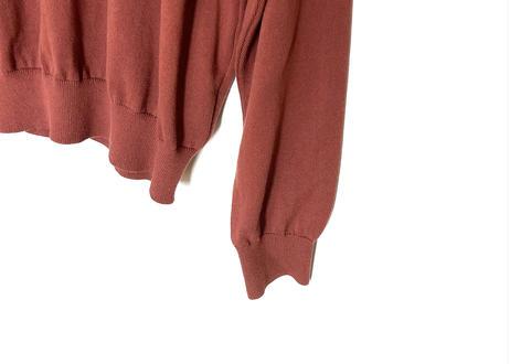 manual alphabet drop shoulder knit