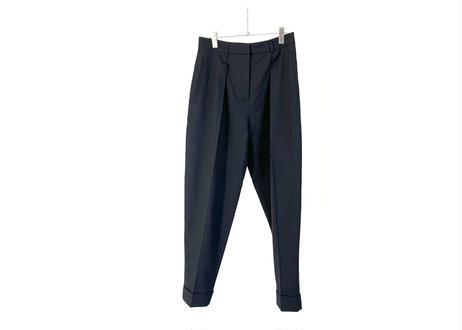 jean paul gaultier tuck trousers