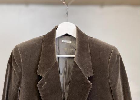 hermes velour jacket