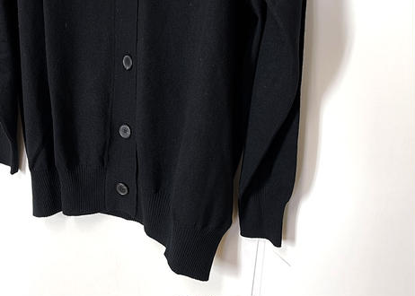 2019ss maison margiela cashmere over size cardigan black dead stock
