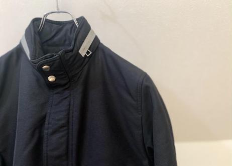 hermes high neck coat