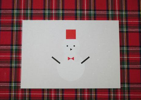 ポストカード / 2 pages book / winter