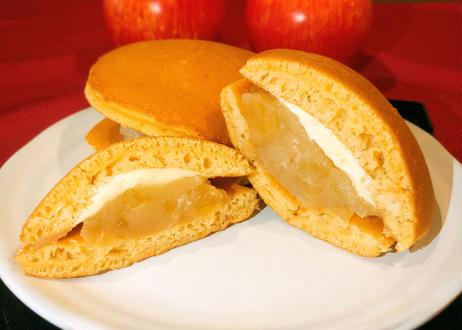 パンケーキみたいなりんごのどら焼き 【8個セット】