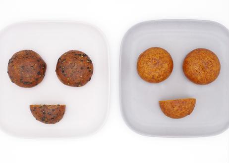 食べ比べセット(かりんとう饅頭 12個 + 芋かりんとう饅頭 12個)