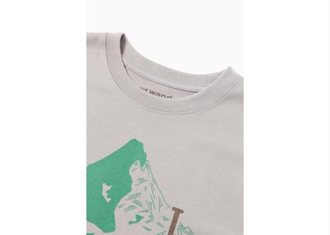 【YARI柄】and wander × 鈴木ともこ オリジナルTシャツ