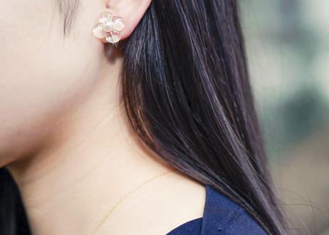 HANA Earring【L : Clear】