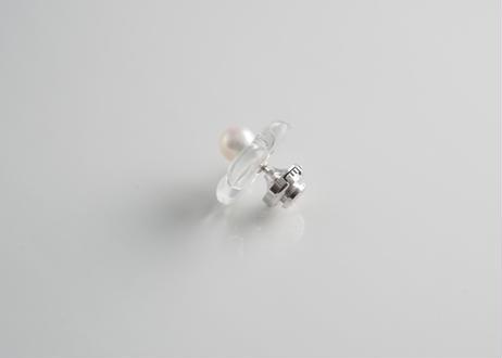HANA Pin brooch【Clear】