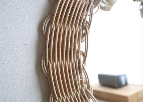 ribbon mirror A  (large size)    natural