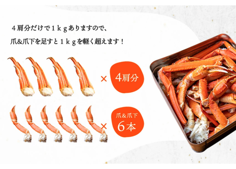 カニのカンカン焼きセット(1kg超)