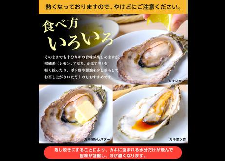 カキのカンカン焼きセット(殻付きカキ16個)