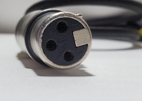 XLRオス-3.5mmステレオミニプラグ 1m