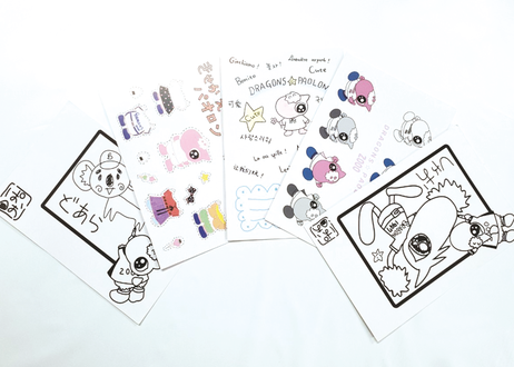 パオロンプロデュース ポストカード 5種セット