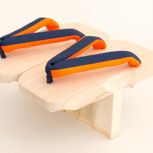 一本歯下駄 SCAPPA  サンセットオレンジ(<スポーツ工芸ブランドARUCUTO商品>一年間職人保証付き)