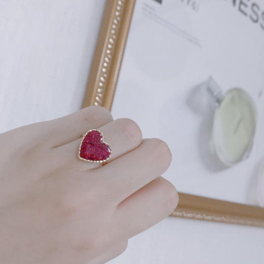 Dear Heart Ring