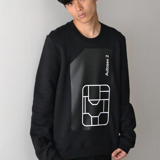 PETER SAVILLE x PACO RABANNE / AUTOSEX Sweatshirt - BLACK