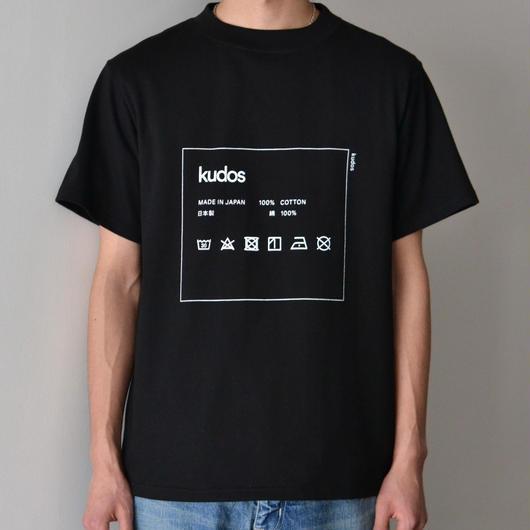 kudos / CARE TAG T-SHIRT