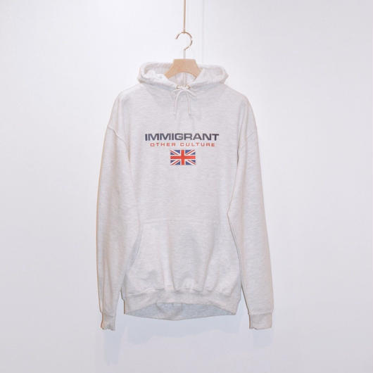 HYPEPEACE / IMMIGRANT UK Hoodie