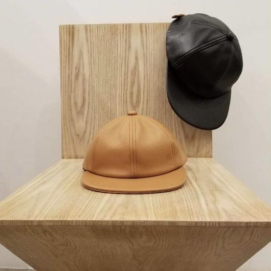 COMESANDGOES / LEATHER CAP