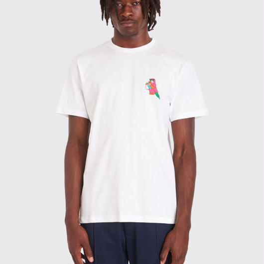 TRÈS BIEN / SOUVENIR x JUNIOR EXECUTIVE PARROT T-SHIRT