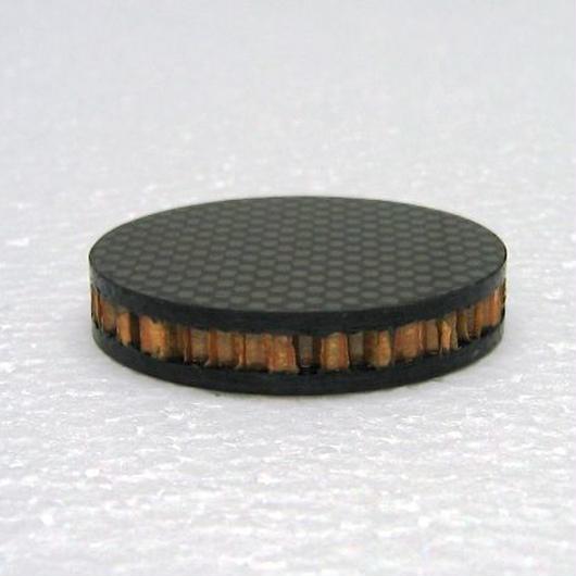 ドライカーボン+ノーメックスハニカム インシュレーター 15厚 <40角 or 40Φ> ※受注生産(1週間~10営業日)