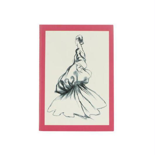 ◆メール便発送商品◆The Metropolitan Museum Of Art ファッションイラストレーションズ ノート