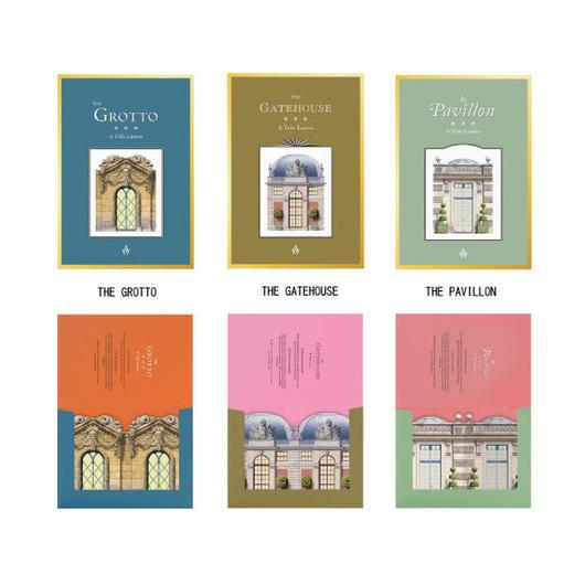 ◆メール便発送商品◆Architectural Watercolors テーブルランタン 3デザイン