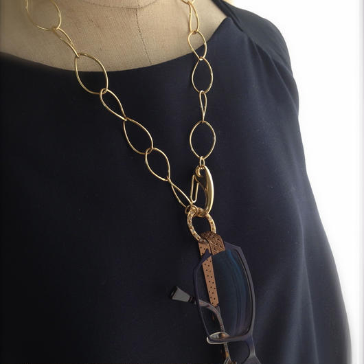 Grass Necklace OVAL
