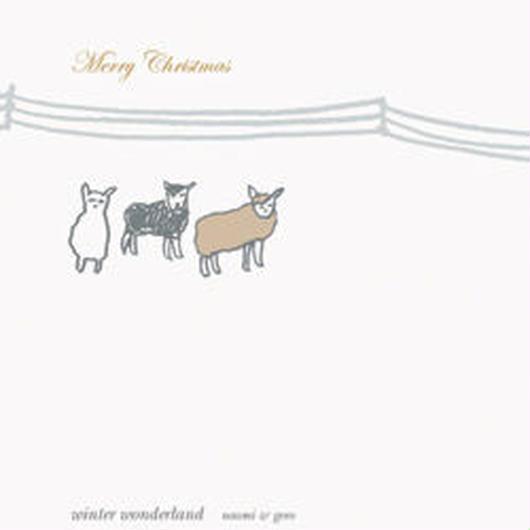 グリーティング・CDカード「winter wonderland」