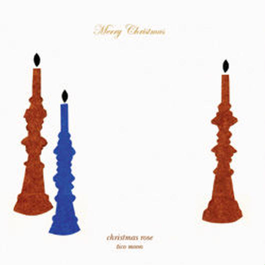 グリーティング・CD,カード「christmas rose」