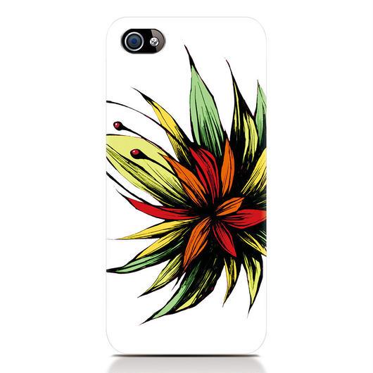 iPhone6対応スマートフォンケース「南国の花」