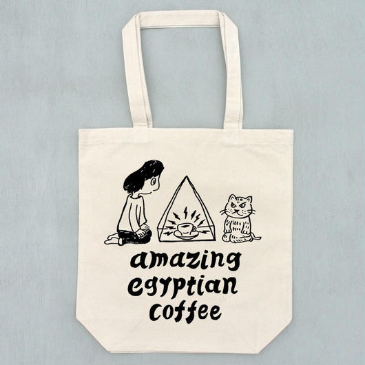 amazing egyptian coffee トートバッグ