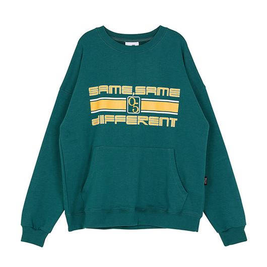 Motivestreet SLOGAN SWEAT SHIRT (Green)
