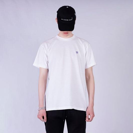 Blackblond  Basic Star Logo Tee (White)