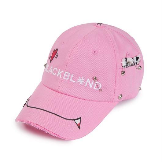 Blackblond Classic Logo Vamp Cap (Pink)