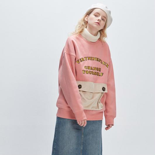 ▷Coming Soon◁ Verynineflux ADORABLE CREWNECK (Pink)