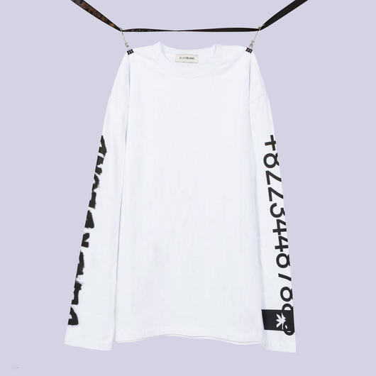 Blackblond BBD Graffiti Number Tee (White)