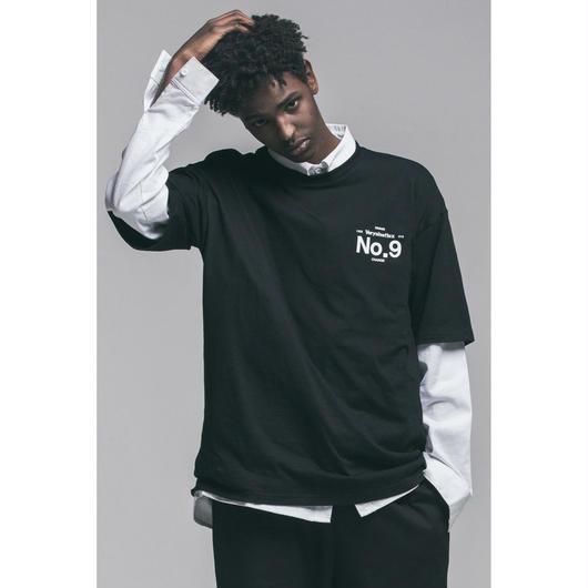 Verynineflux NINTH T-SHIRT (Black)