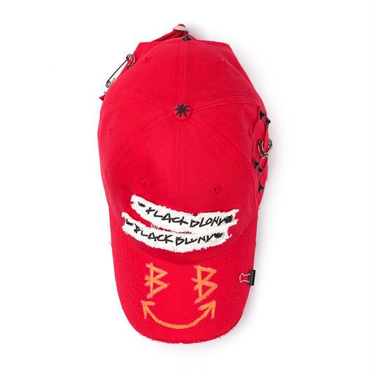 Blackblond  Big Smile Patch Logo Cap (Red)