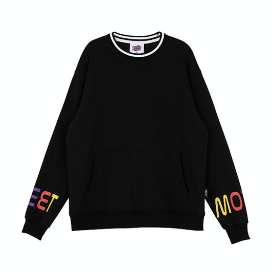 Motivestreet COLOR BOOK SWEAT SHIRT (Black)