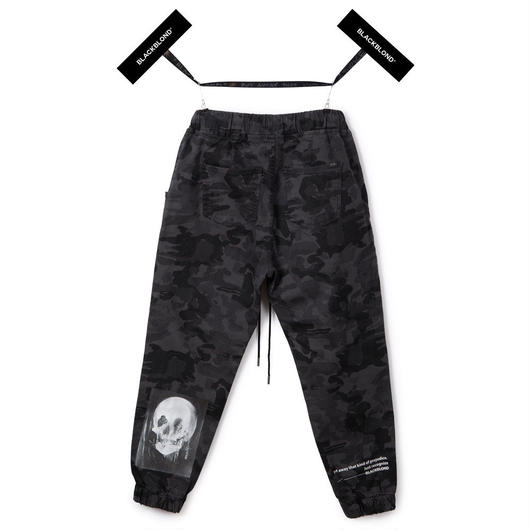 Blackblond BBD Hermoso Camo Jogger Pants (Grey)