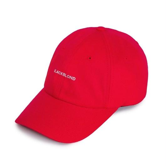 Blackblond Reflection Logo Cap (Red)