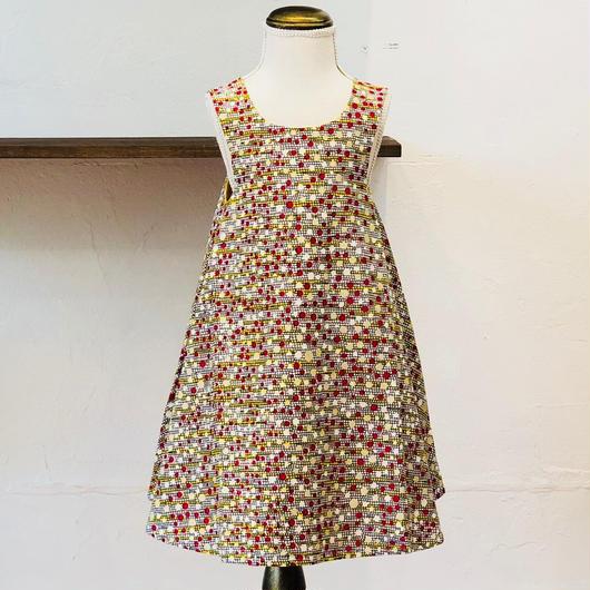 北欧ブランドプリント柄ワンピース Kids dress Kaste print