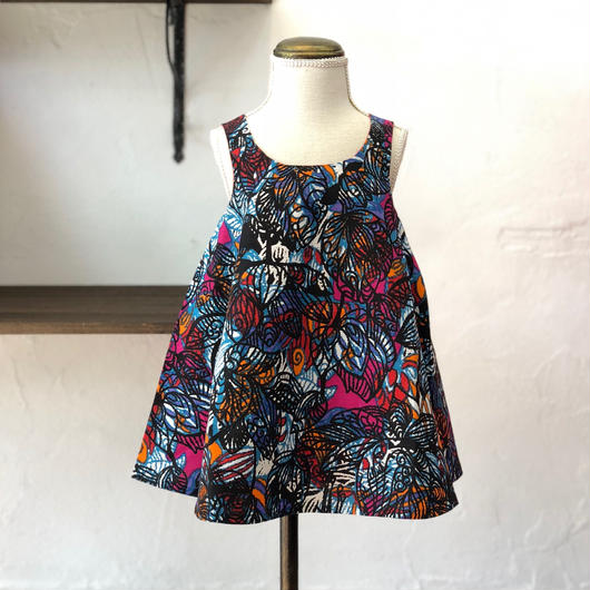 北欧ブランドプリント柄ワンピース KUKKA Kids dress 1172044